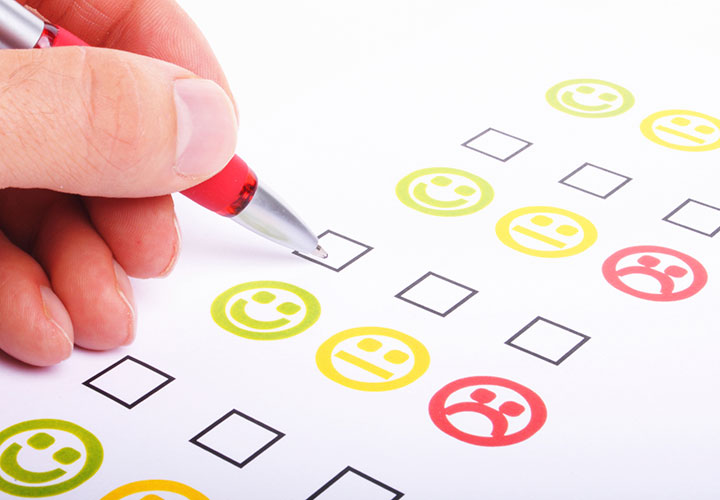 Surveys and questionnaires to measure customer satisfaction